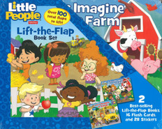 Toddler Early Learning: Lift-A-Flap Set of 2 (Board Book)