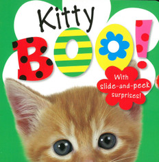 Kitty Boo! Slide-and-Peek (Board Book)