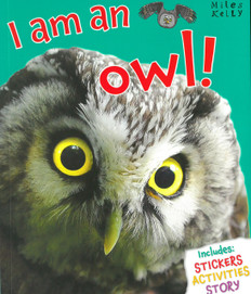 I am an Owl! (Paperback with Mask)