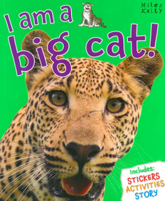 I am a Big Cat! (Paperback with a Mask)