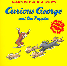 Curious George and the Puppies (Paperback)
