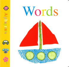 Words: Alphaprints (Board Book)