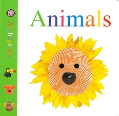 Animals: Alphaprints (Board Book)