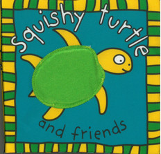 Squishy Turtle & Friends (Cloth Book)