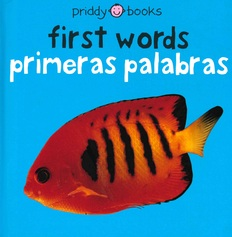 First Words (Spanish/English) (Board Book)