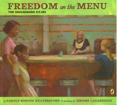 Freedom on the Menu: The Greensboro Sit-Ins (Paperback)