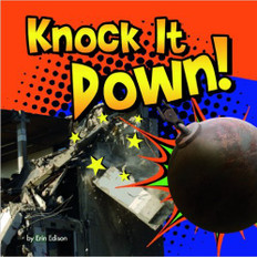 Knock It Down!: Destruction Lift Flaps & Pull Tabs (Board Book)