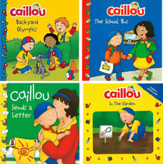 Fun With Caillou (BSB)- 40 Books