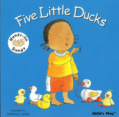 Five Little Ducks: Hands-On Songs (Board Book)