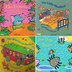 Classic Books with Holes: Child's Play Set of 4 (17 x 17 x .3 inches)