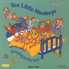 Ten Little Monkeys Jumping on the Bed ( Giant Paperback)