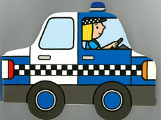 Police Car: Playtown Chunky (Board Book)