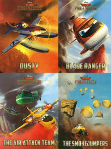 Disney Planes Fire & Rescue: Rescue Buddies Set of 4 (Board Book)