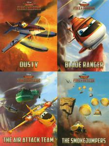 Disney Planes Fire & Rescue: Rescue Buddies Set of 4 (Board Book)