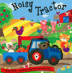 Noisy Tractor: Noisy Wheels (Board Book)