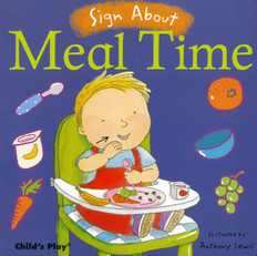 Sign About Meal Time (Board Book)