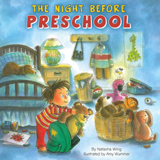 The Night Before Preschool (Paperback)-Clearance Book/Non-Returnable
