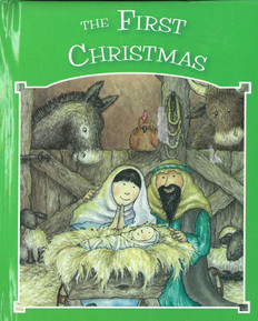 "The First Christmas (Hardcover) 4"" x 5"""