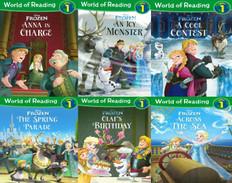 Disney Frozen:  World of Reading Level 1 Set of 6  (Paperback)