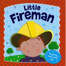 Little Fireman (Board Book)