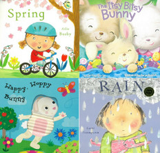 The Joys of Spring!: Set of 4 (Board Book)