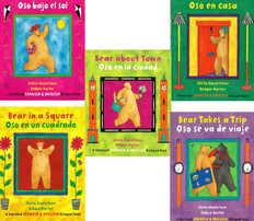 Bear Friends Set of 5 (Spanish/English) (Paperback)
