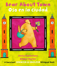 Bear About Town (Spanish/English) (Paperback)