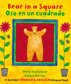 Bear in a Square (Spanish/English) (Paperback)