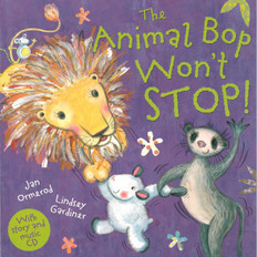 Animal Bop Won't Stop (Paperback w/CD)