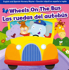 Wheels on the Bus (Spanish/English) (Board Book)