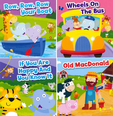 BBB Nursery Rhyme Set of 4 (Board Book)