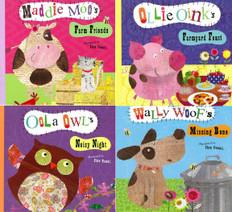 Animal Stories That Rhyme Set of 4 (Big Paperback)