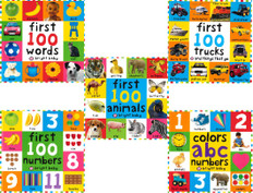 First 100 Set: Bright Baby 5 Books (Paperback)