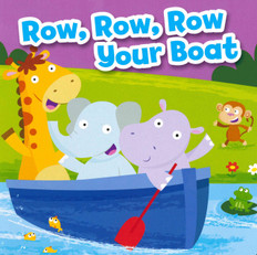 CASE OF 72- BBB Row, Row, Row Your Boat (Board Book)