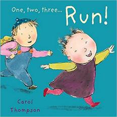 One, Two, Three… RUN! (Board Book)