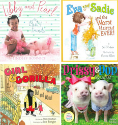 Best of Friends (Hardcover) Set of 4