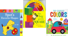 Learning Colors and Shapes Set of 3 (Board Book)