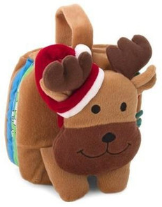 Cuddly Reindeer: Books on the Go (Cloth Book)