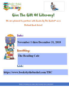 The Reading Cafe Virtual Book Drive