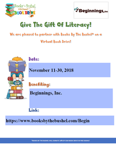 Beginnings, Inc. Virtual Book Drive