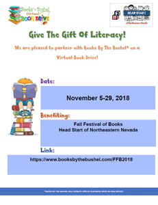 Fall Festival of Books (Head Start of Northeastern Nevada)