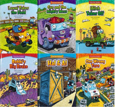 Truck Pals On The Job: Set of 6 (Hardcover)