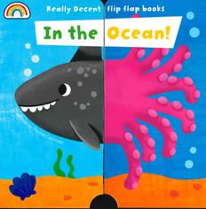 In the Ocean! Flip Flap Books (Board Book)