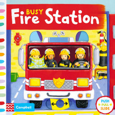 Busy Fire Station (Board Books)