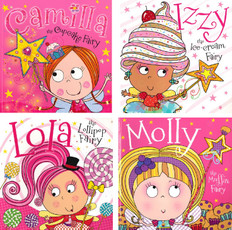 Camilla and Her Fairy Friends Set of 4 (Paperback)