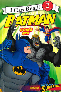 BATMAN Going Ape: I Can Read Level 2 (Paperback)