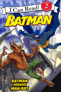 Batman Versus Man-Bat: I Can Read Level 2 (Paperback)