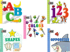 Early Learning Chunky Set of 5 (Chunky Board Book)