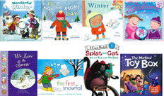 Flurries of Fun Reading Challenge Book Kit (8 book set)