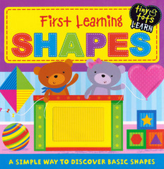 First Learning Shapes: Tiny Tots Learning (Board Book)